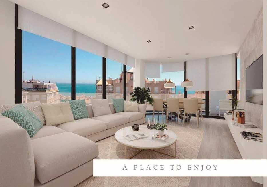 Appartement met infinity pool met uitzicht over de Middellandse zee