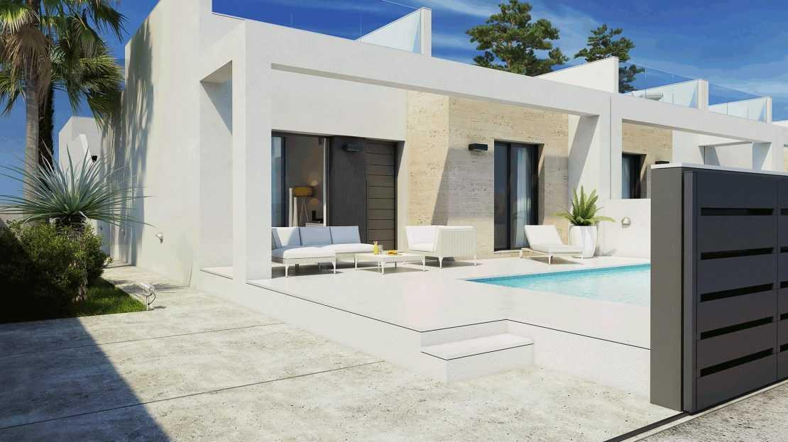 Geschakelde bungalows Daya Nueva Costa Blanca € 188.000,–