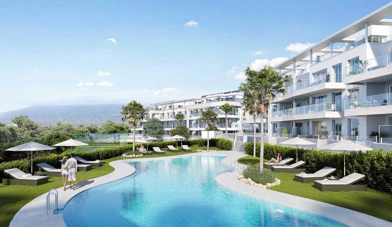 Appartementen Lagunas de Mijas vanaf 253.000,-- Huis kopen Spanje (1)