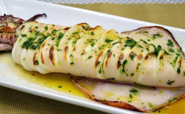 Calamares a la plancha - Huis aan de Costa