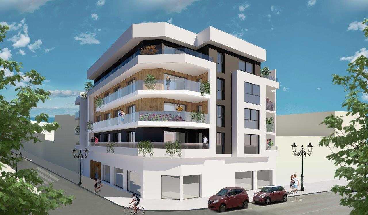 Nieuwbouw appartementen in centrum Guardamar del Segura