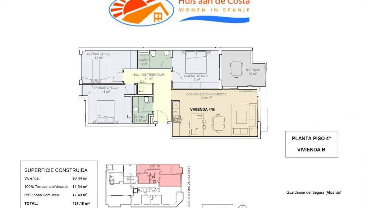 Luxe appartementen in centrum Guardamar del Segura (7)