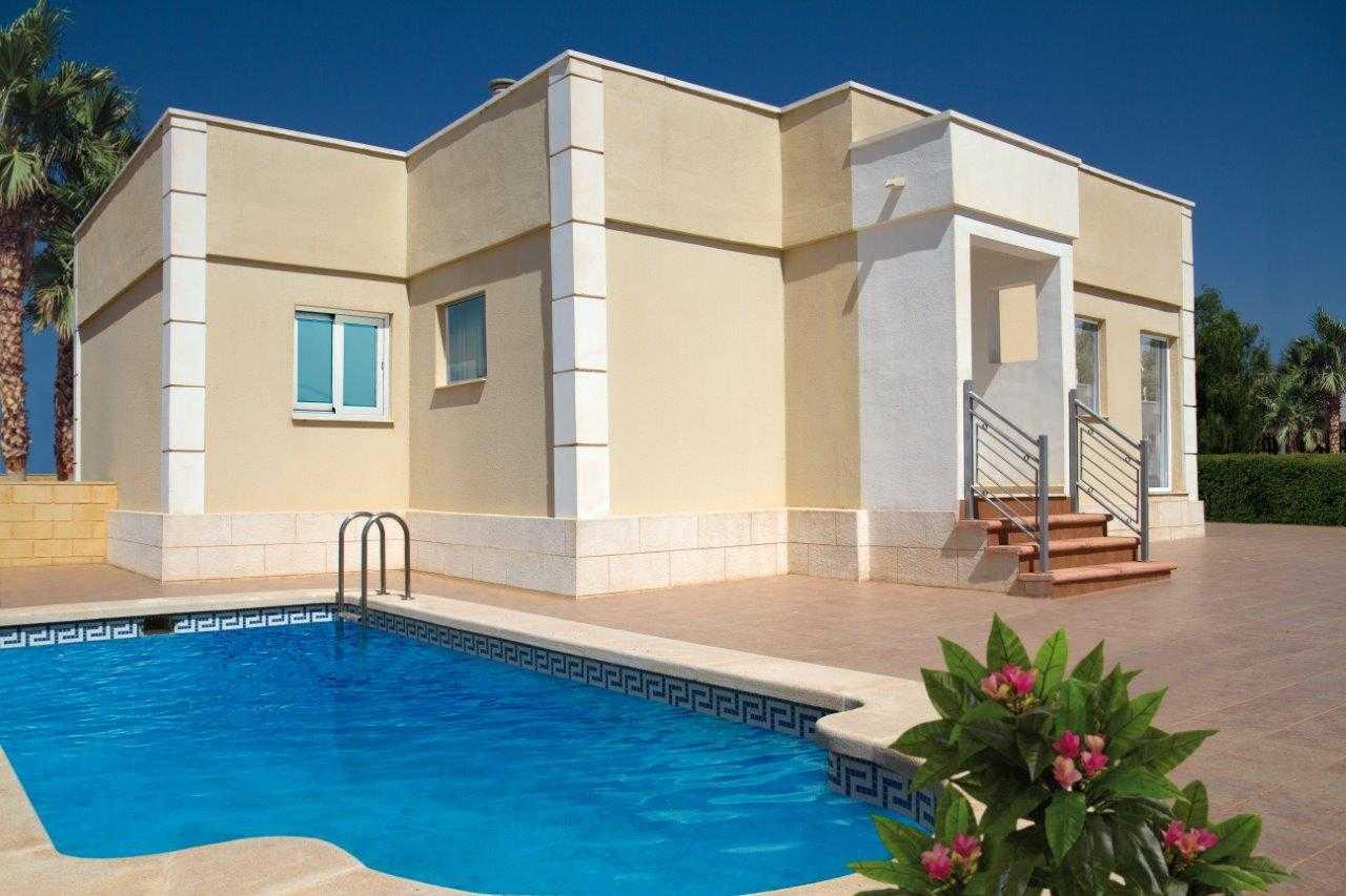Geschakelde nieuwbouw bungalow vanaf € 90.000,- regio Murcia