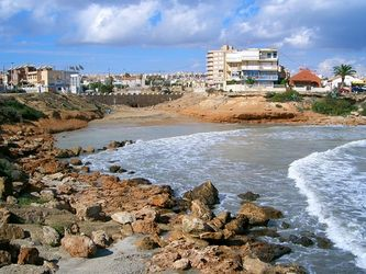 Stranden Torrevieja - Huis aan de Costa
