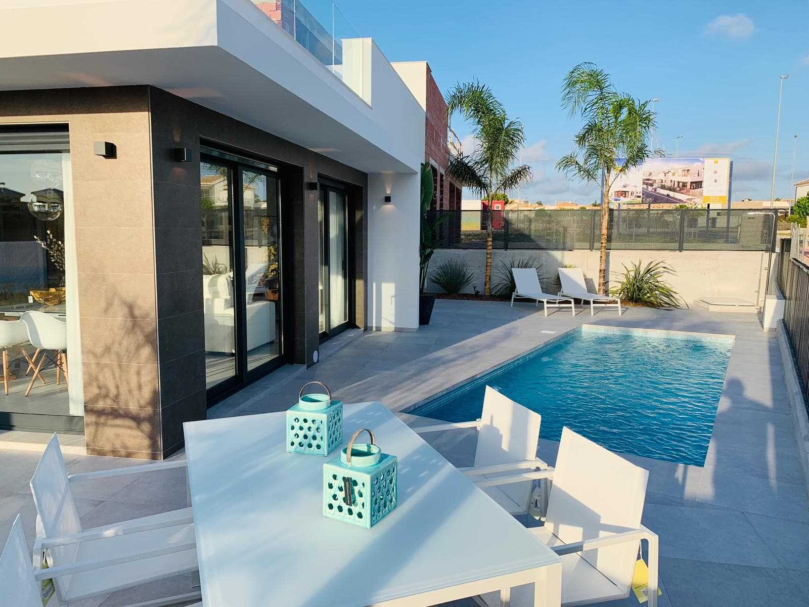 Half-vrijstaande villa's met privé zwembad in San Fulgencio – Costa Blanca