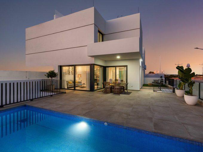 Uniek moderne 3 slaapkamer villa's van zeer hoge kwaliteit in Dolores - Huis aan de Costa