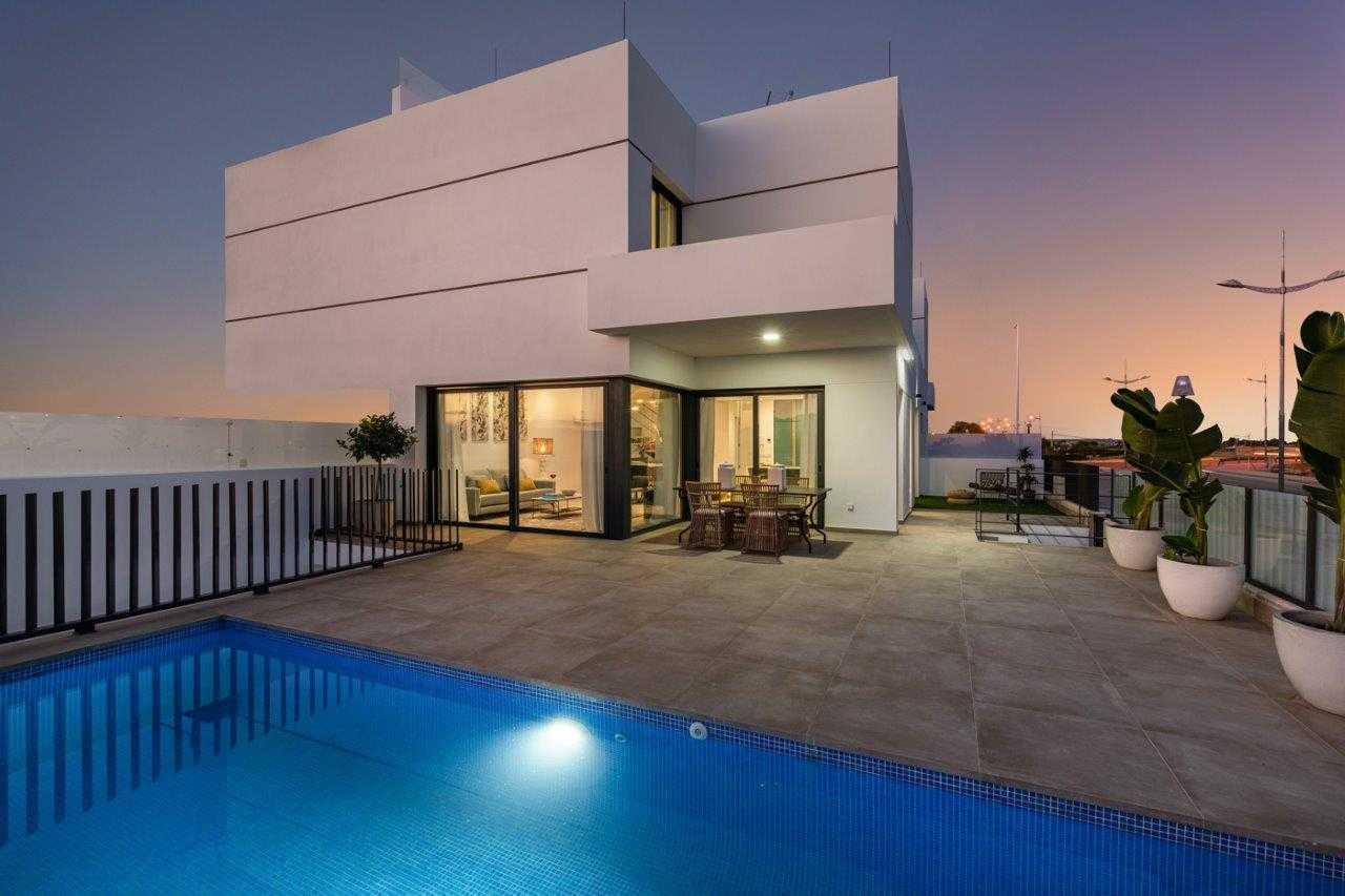 Uniek moderne 3 slaapkamer villa's van zeer hoge kwaliteit in Dolores