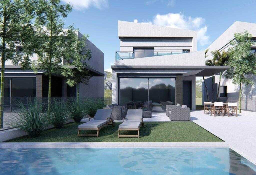 Villa met ruime woonkamer in Heredades Costa Blanca