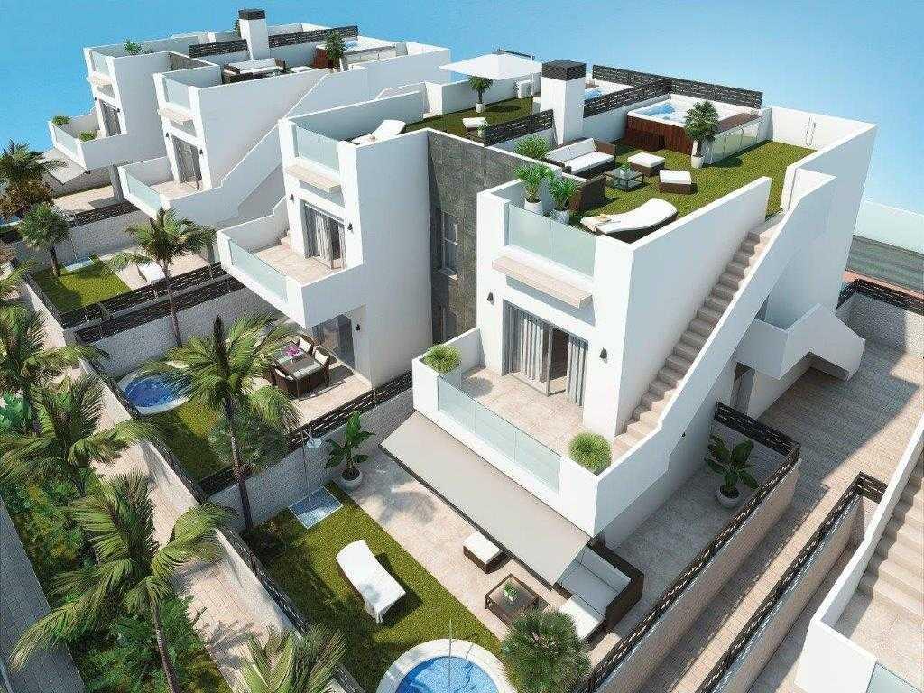 1ste verdieping appartementen met balkon en riant dakterras