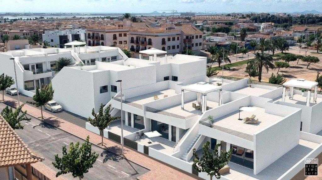 Geschakelde villa's 3 slaapkamers, 2 badkamers vanaf € 239.900,-