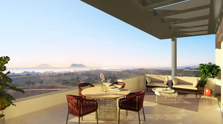 Luxe nieuwbouwproject in de baai van Estepona