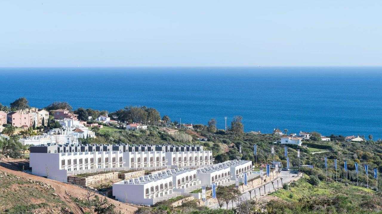 Townhouses met een ongeëvenaard uitzicht over zee.