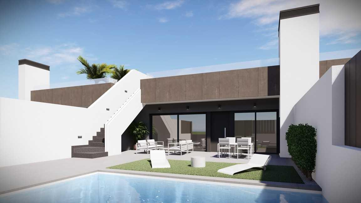 Bungalow met privé zwembad en dakterras op 200 meter van Mar de Cristal