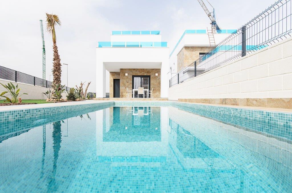 Mooie vrijstaande villa's in Benijofar