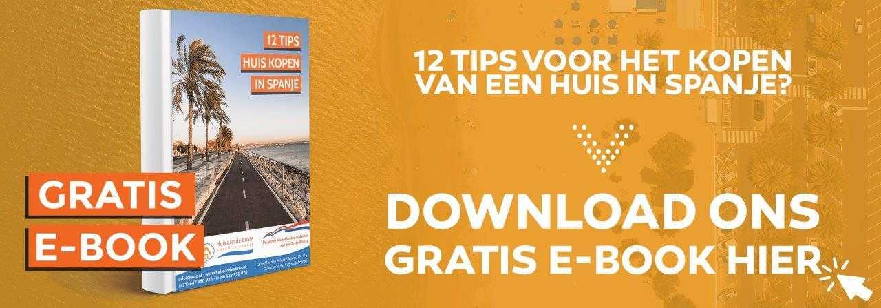 Banner Download Ebook Huis kopen Spanje