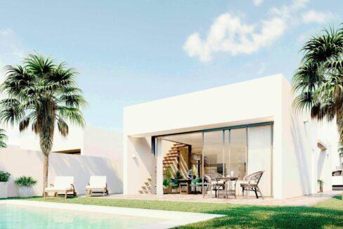 Vrijstaande bungalows met privé zwembad - Huis aan de Costa