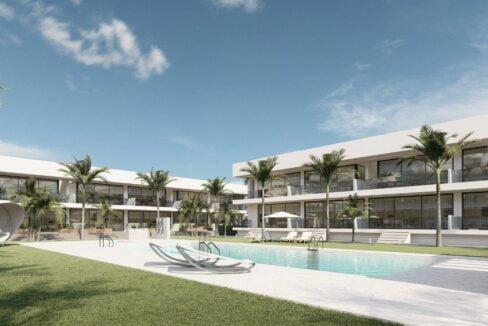 Appartementen met ruim terras - Huis aan de Costa