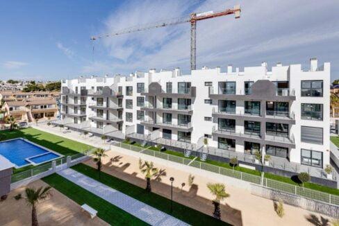 Modern nieuwbouw appartementencomplex - Huis aan de Costa