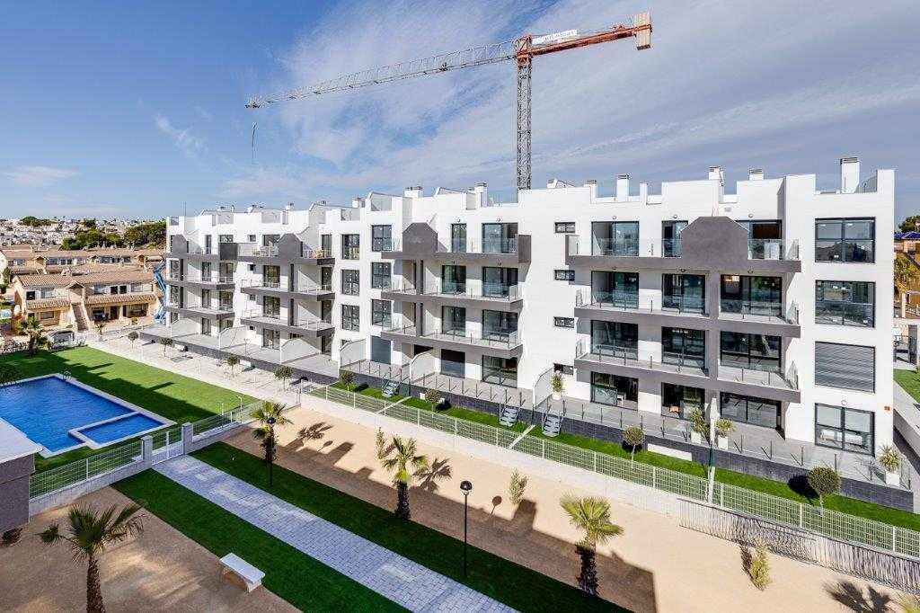 Modern nieuwbouw appartementencomplex