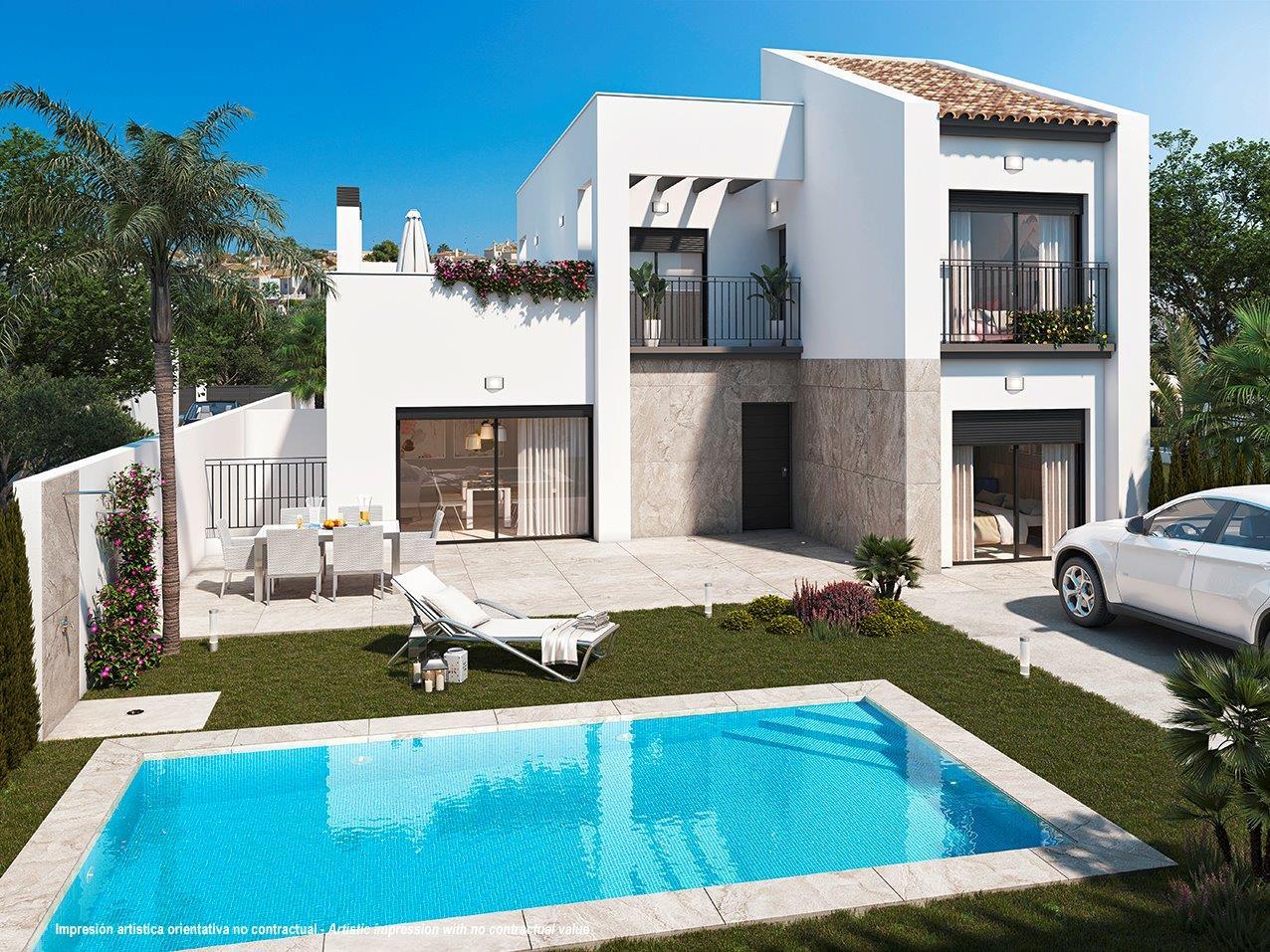 Mediterrane villa's in Quesada – Costa Blanca