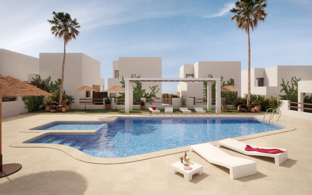 Mediterrane villa's in Villamartin